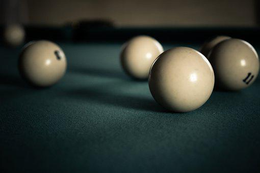 Game, Pool Table, Ball, Snooker, Russian, Table, Cue