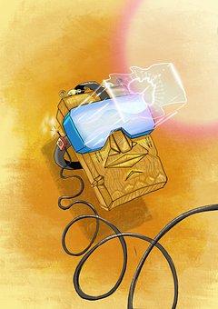 Mask, Virtual Reality, Imagination, Dream, Fiction
