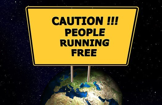 Earth, Globe, World, State, Satire, Joke, Humor