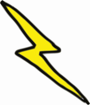 Lightening, Bolt, Thunderbolt, Yellow, Strike, Energy
