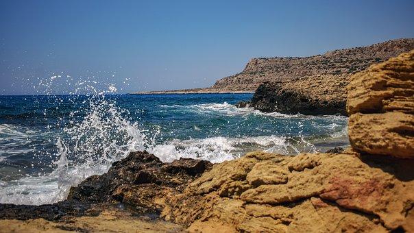 Cyprus, Cavo Greko, Landscape, Nature