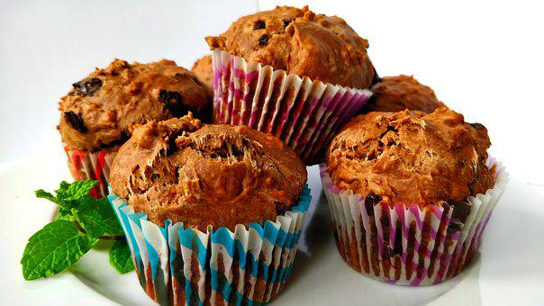 Muffin, Delicious, Cupcake, Dessert, Cake, Bakery, Food