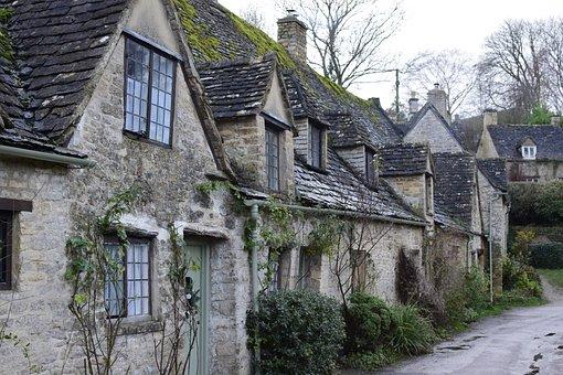 Bibury, Cotswolds, Cotswold, Cottage, Gloucestershire