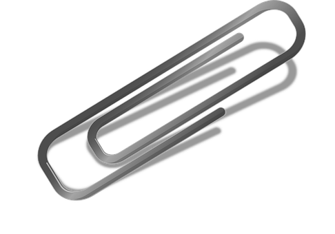 Letter Clip, Paperclip, Help Item In The Office
