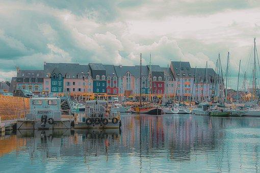 Landscape, Port, Paimpol, Brittany, Côtes-d-armor