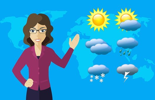 Weather, Forecast, Reporter, Prediction, Tv, News