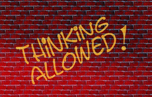 Wall, Permission, Think, Brain, Thinking, Judge