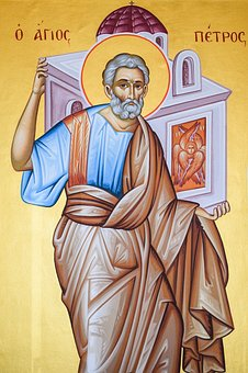 St Peter, Saint, Iconography, Painting, Byzantine Style