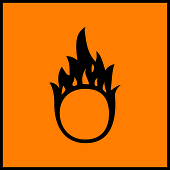 Fire, Warning, Hazard, Caution, Careful, Danger, Sign