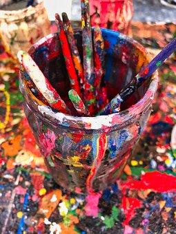 Color, Park, Colors, Fun, Tourists
