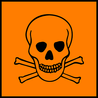 Danger, Warning, Hazard, Death, Toxic, Caution, Careful