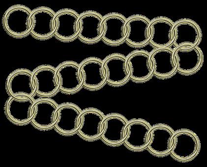 Gold, Chain, Link, Metal, Jewelry, Luxury, Design
