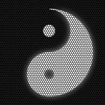 Yin Yang, Symbol, Silhouette, Vital Energy, Harmony