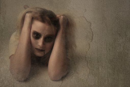 Mirror, Scary, Make-up, Dolls, Horror, Creepy, Dark