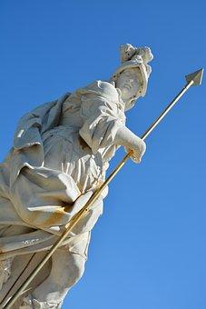 Greece, Greek, Goddess, Architecture, Mythology, Statue