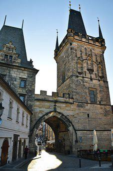 Prague, Charles Bridge, Europe, Architecture, Bridge