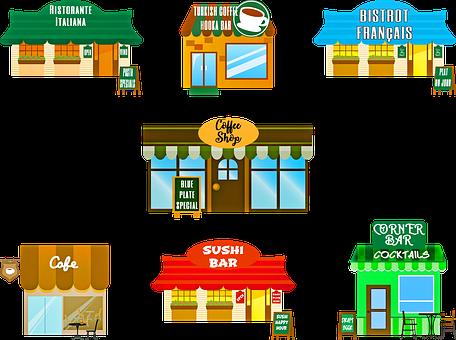 Restaurant, Café, Coffee