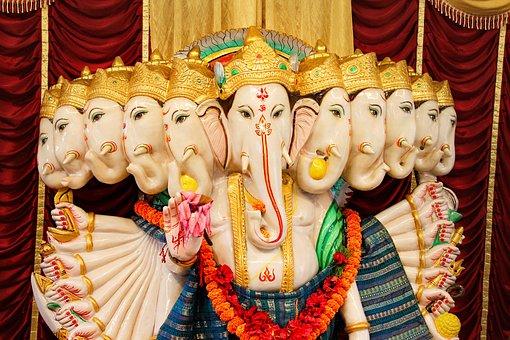 India, Asia, Hindu Temple, Deity
