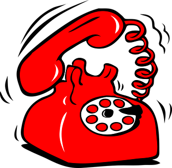 Telephone, Dial Plate, Red, Retro, Communication, Call