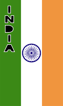 India, Country Flag, Banner, Bunting, Summer Olympics