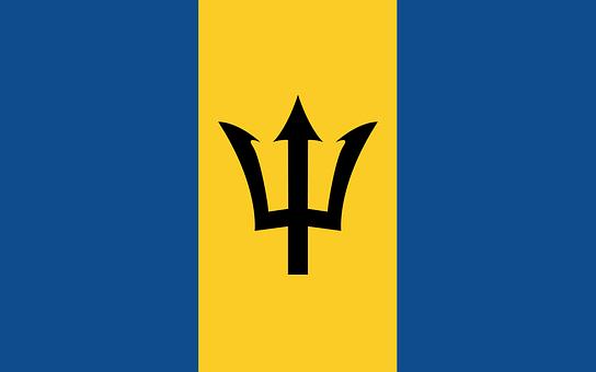 Barbados, Flag, Country, Barbados Flag