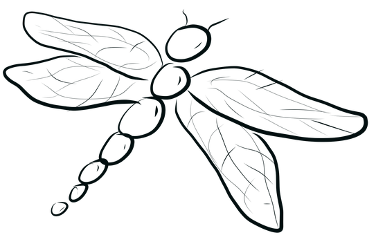 Dragonfly, Bug, Insect, Whimsical, Wings, Wildlife