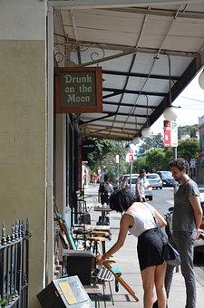 Sydney, Hipster, Art, Cafe, Local