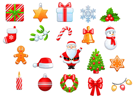 Felt Christmas Icons, Christmas Icons, Gifts