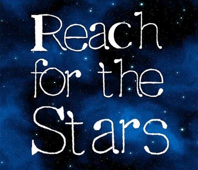 Stars, Reach, Success, Motivation, Motivational