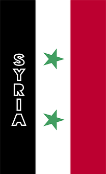 Syria, Country Flag, Banner, Bunting, Summer Olympics