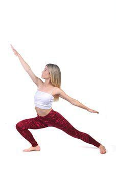 Yoga, Isolated, Health, Woman, Fitness, Sport, Exercise