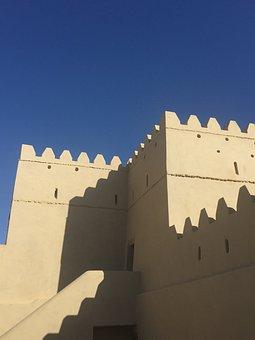 Fort, Dubai, Historic, Arabic, Fortification, Abu Dhabi