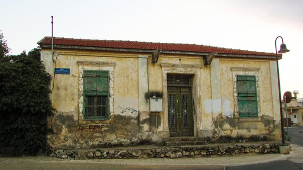 Cyprus, Dherynia, Old House, Architecture, Village