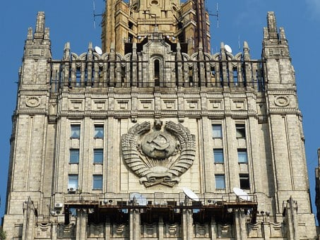 Ministry Of Foreign Affairs, Building, Moscow, Russia