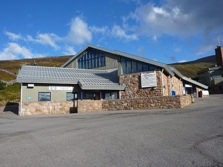 Base Station, Cairngorm Mountain, Scotland, Ski Resort
