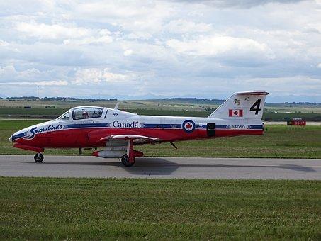 Canadian, Snowbirds, Airplane, Airshow, Plane, Canada