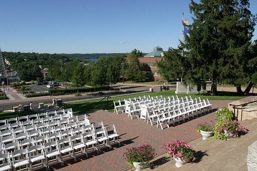 Wedding, Chairs, Event, Celebration, White, Marriage