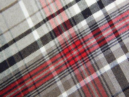 Fabric, Diamonds, Checkered