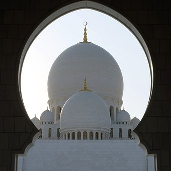 Abu, Dhabi, Grand, Mosque, Architecture