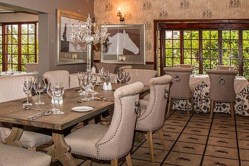 Hotel, Dining Room, Restaurant, Elegant, Dinner, Dining