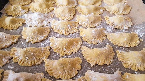 Pasta, Tortellini, Noodles, Banquet, Food, Eat, Edible