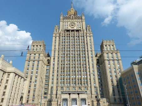 Moscow, Russia, Historically, Capital, Tower, Facade