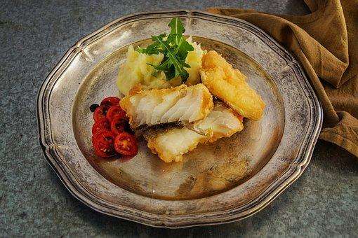 Food, Fish, Fish Fillet, Cod, Fillet, Seafood, Meal