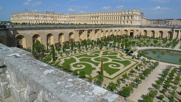 Versailles, Palace, Gardens, Formal, France, French
