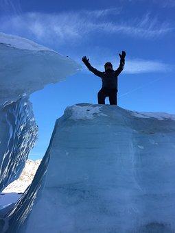 Glacier, Austria, Snow Landscape, Wintry, Alpine, Snow