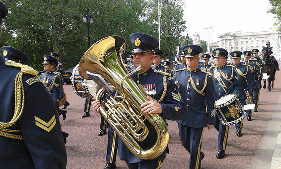 Band, Guard, Changing The Guard, Buckingham Palace