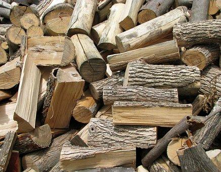 Firewood, Ash, Bitternut Hickory, Hard Maple