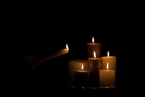 Candles, Candle, Hot, Heat, Cosy, Lonely, Fire