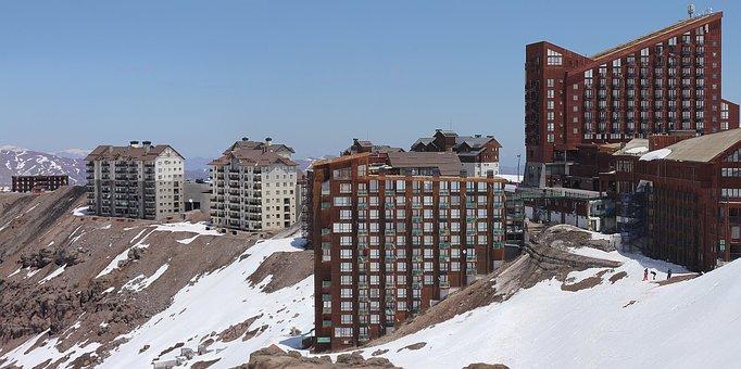Landscape, Horizon, Resort, Chile, Ice, Cold