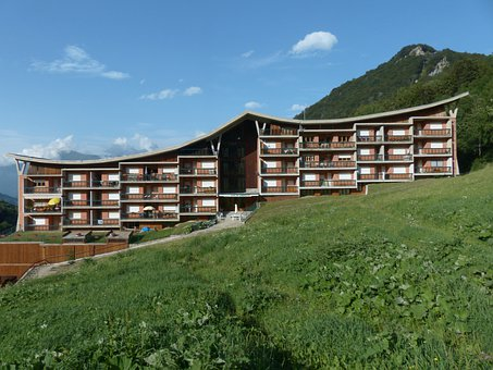 Hotel, House, Residential Complex, Live, Vacations